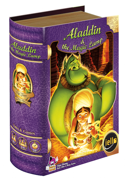Aladdin Magic Lamp Tales Games box
