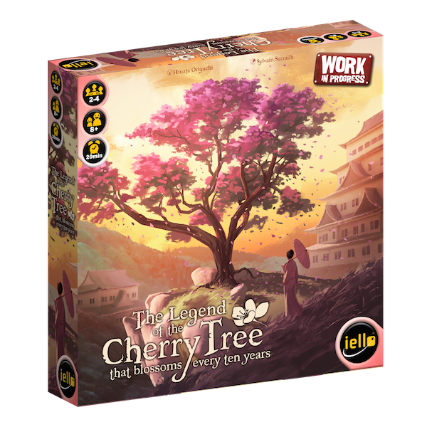Legend of the Cherry Tree that blossomed every ten years wip box