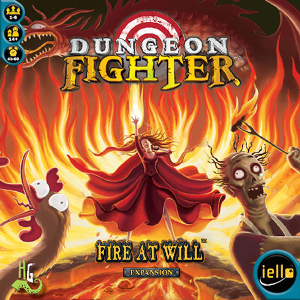 Dungeon Fighter Fire at Will flat cover