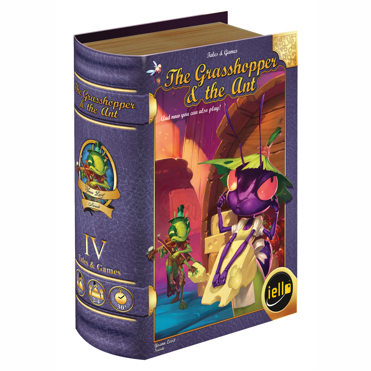 Tales Games Grasshopper Ant box