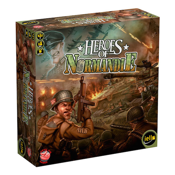 Heroes of Normandie 3d box