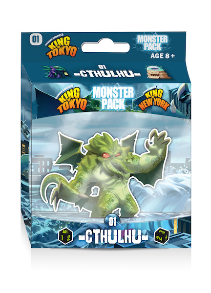 Cthulhu Monster Pack: King of Tokyo -  Iello