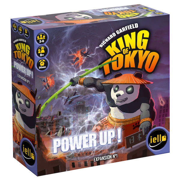 King of Tokyo Power Up box