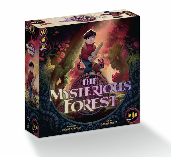 mysterious forest box