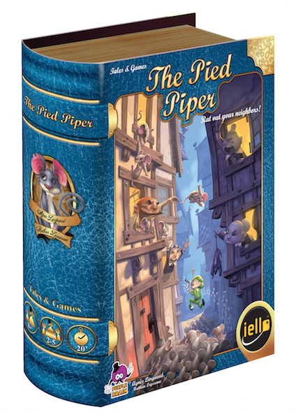 Pied Piper Tales Games box