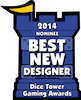dice tower best new designer 2014 nominee