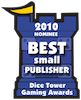 dice tower best small publisher nominee