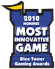 dice tower most innovative game 2010 nominee